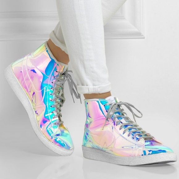 """080c02436a Nike WMNS Blazer Mid """"Iridescent"""" sneakers size 8.  M_5ab9d4e78df470a3c1289a03"""